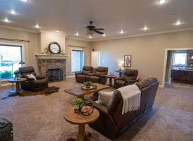 Gorgeous Home with finished basement, Safe Room, 2 car garage, Fiber Internet, 5 +/- Acres, Cord, AR, Independence County