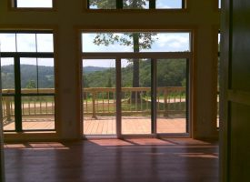 Brand new, custom, 1,300+/- sq ft under roof home on 10+/- Acres in the mountains!