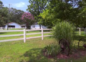 Home and guest home on 85 +/- Acres in Sharp County Arkansas.