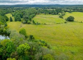 35 +/- Acres, Strawberry River Frontage, Fenced, Secluded, Sharp County, AR