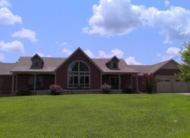 6 bd,3 bth 5,500+/- sq ft under roof home on 20+/- Acres! In ground pool, year round creek, finished basement, guest house.